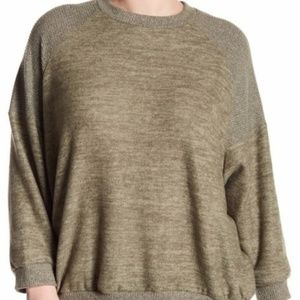Melrose and Market Raglan Dolman Sweater Grey 1 X
